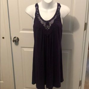 Brand New Crochet Top Bathing Suit Cover Up Small